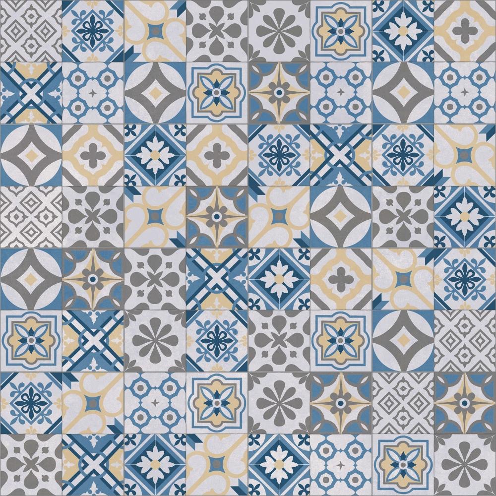 CAD- und BIM-Objekte - Dalle Jardin Design Mosaic Oase - Marlux