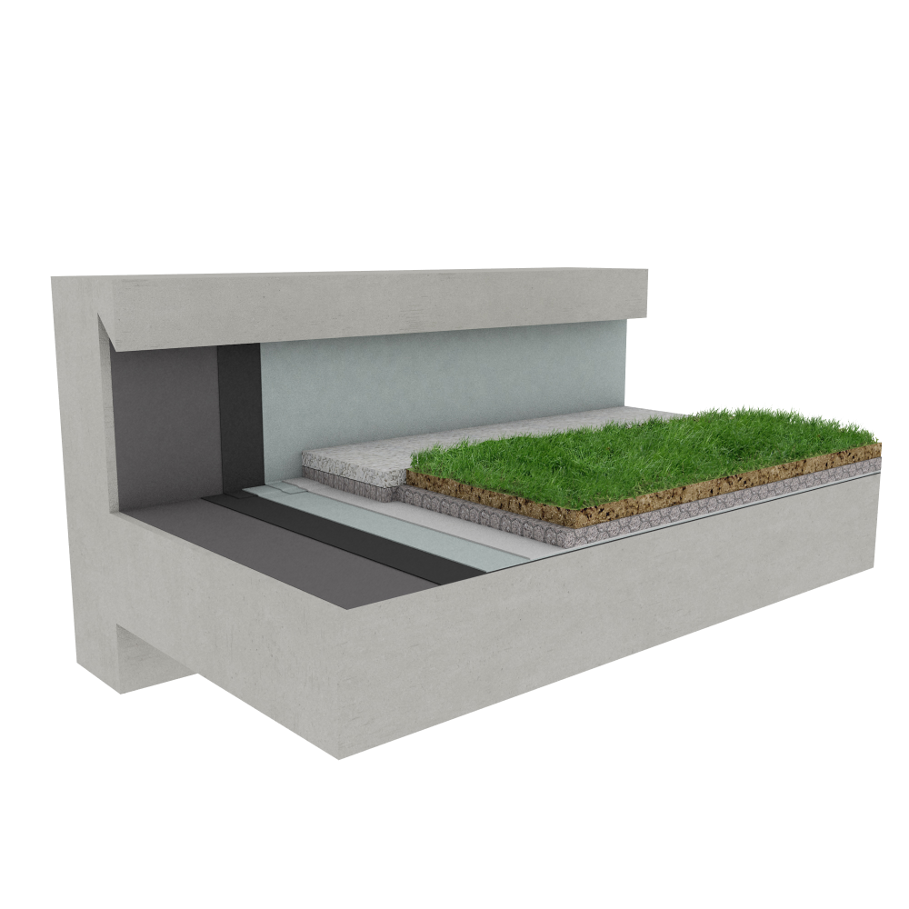 Bim物体 Green Roof Canopia Vegetapis Stormwater
