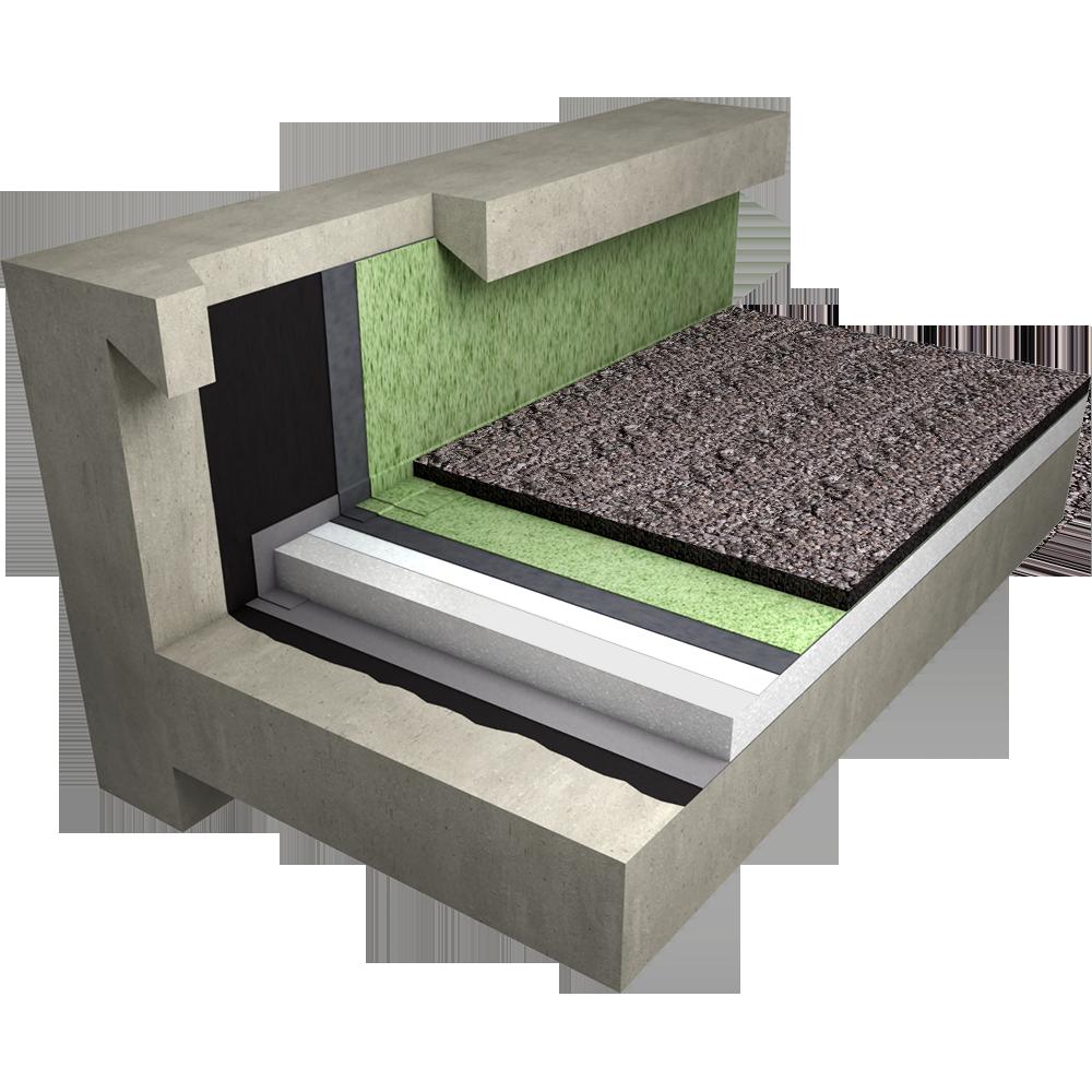 objets bim et cao etanch it de toiture terrasse gravillons inaccessible sur ma onnerie siplast. Black Bedroom Furniture Sets. Home Design Ideas