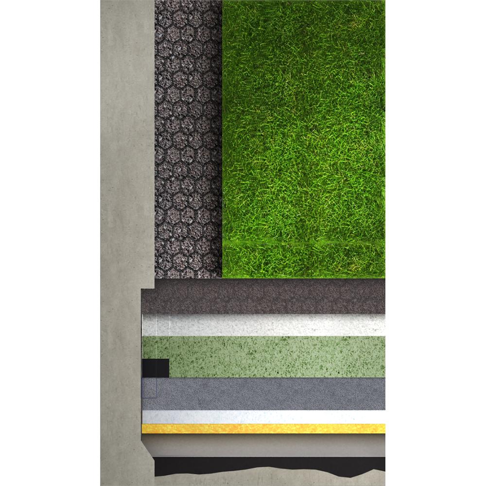 Toiture Terrasse Végétalisée Siplast : Objets BIM et CAO Toiture terrasse v u00e9g u00e9talis u00e9e r u00e9tention