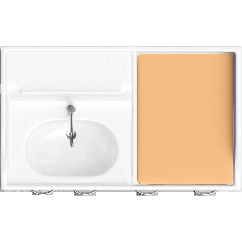 Cad Und Bim Objekte Standcreche 150 Waschbecken Loxos