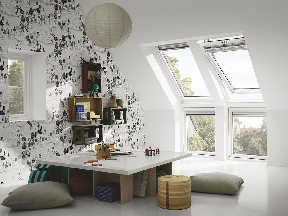 objeto cad e bim fenetre verticale pour verrieres d angle blanche velux. Black Bedroom Furniture Sets. Home Design Ideas