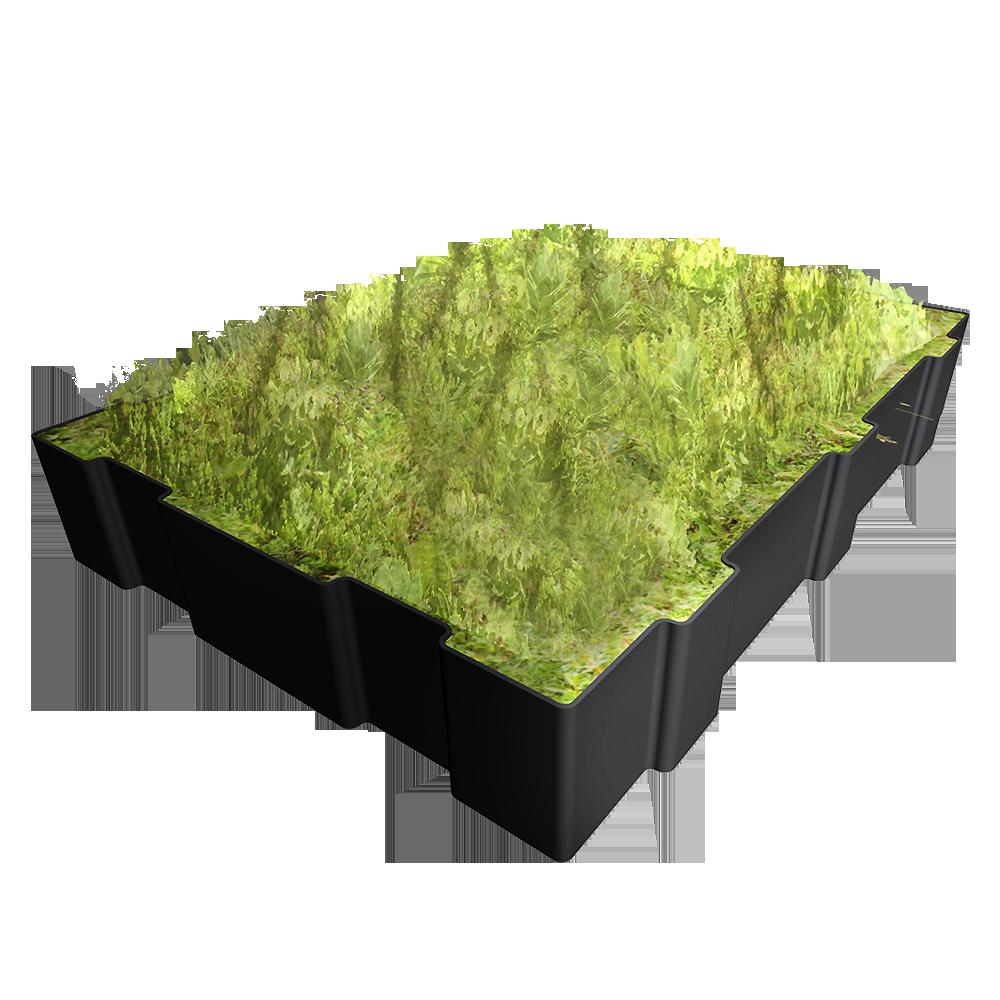 bim objekt hydropack the modular green roof le. Black Bedroom Furniture Sets. Home Design Ideas