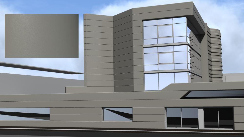 Mirabuild SPE Gris 2800 Texture  3D View