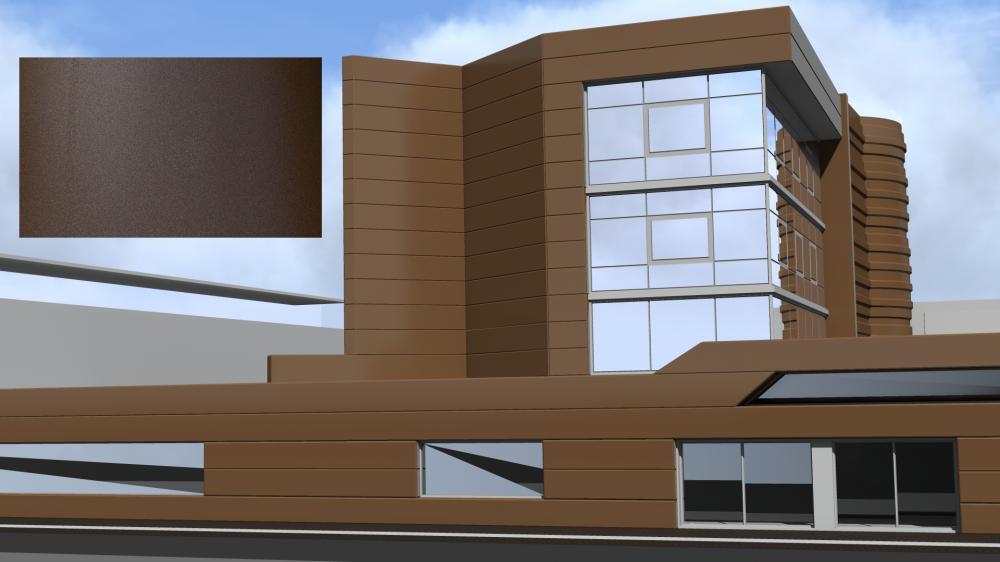 Mirabuild SPE 2650 Texture Metalise  3D View