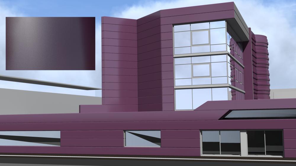 Mirabuild SPE 4007 Texture Extra Mat  3D View
