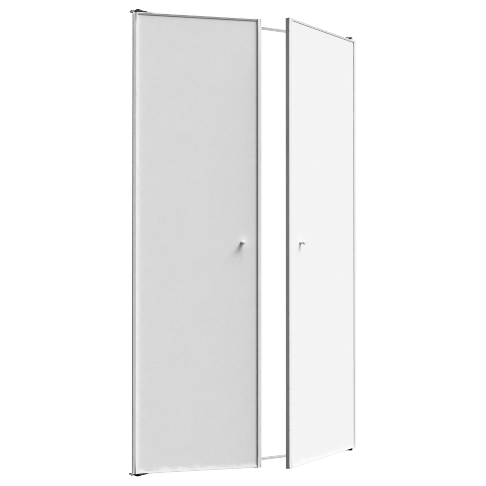 Objets bim et cao porte de placard pivotante kendoors for Porte in spanish