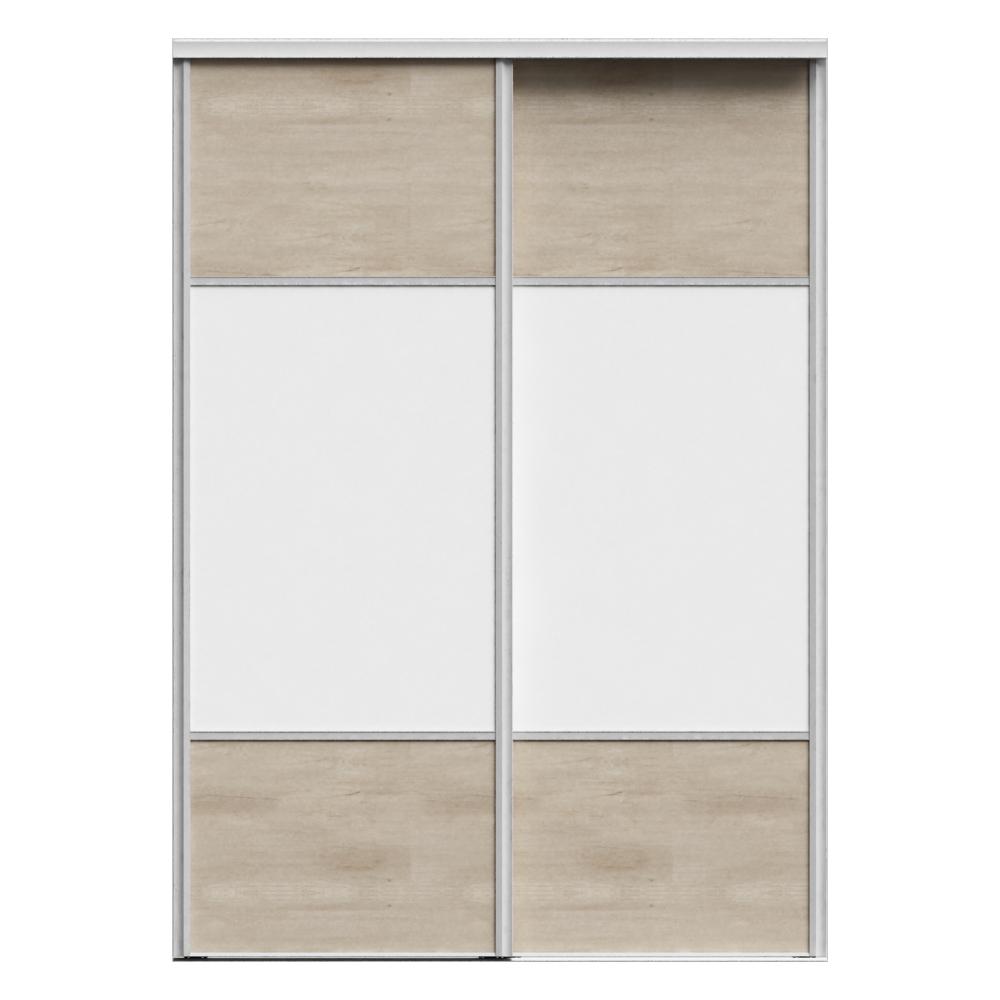 objets bim et cao porte de placard coulissante premio 3p 3 partitions 2 portes sogal. Black Bedroom Furniture Sets. Home Design Ideas