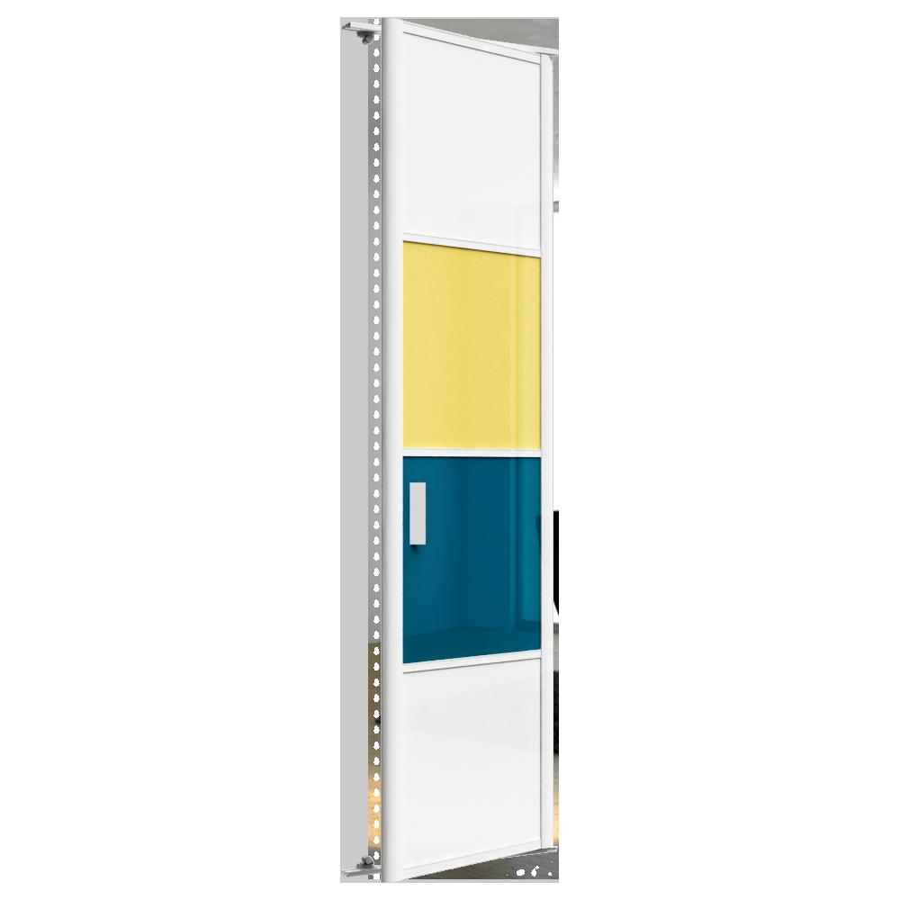 objets bim et cao porte de placard pivotante harmonie 1 porte sogal. Black Bedroom Furniture Sets. Home Design Ideas