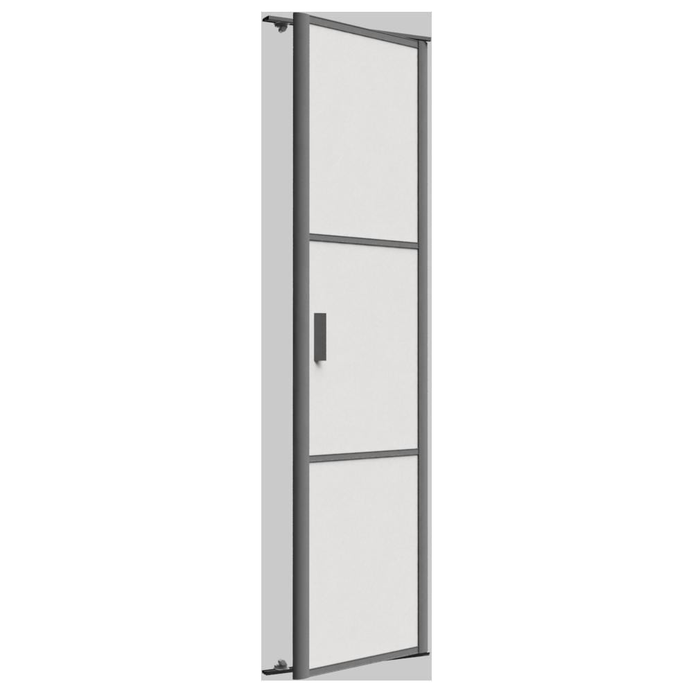 Objets bim et cao porte de placard pivotante reflet 1 for Porte spanish