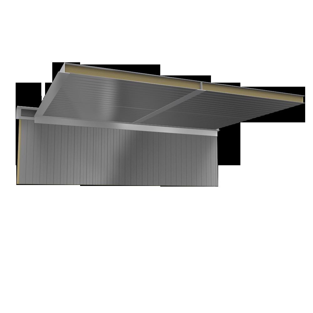objets bim et cao plafond panneaux sandwich 2 parements. Black Bedroom Furniture Sets. Home Design Ideas