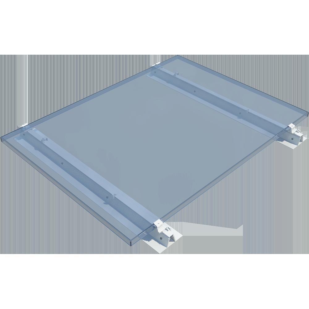 Objets BIM et CAO - ROOF-SOLAR PVC - Fixation PV pour toitures terrasses - MEPLE