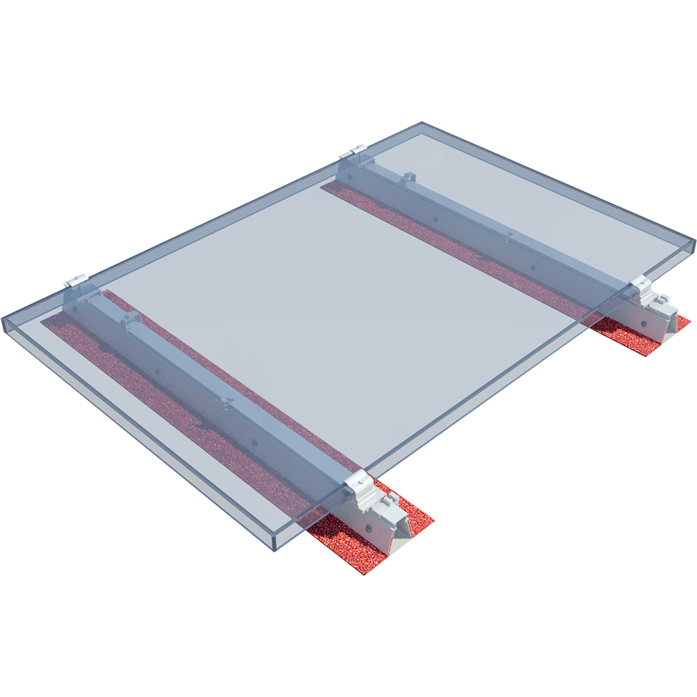 ROOF-SOLAR BITUMEN  - PV mounting system for flat roofs