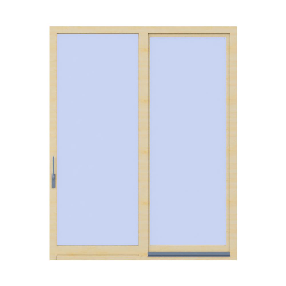 Tilt and slide door Inova  Front