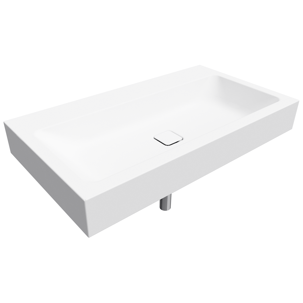cad und bim objekte cono wall hung washbasin 500x900 kaldewei. Black Bedroom Furniture Sets. Home Design Ideas