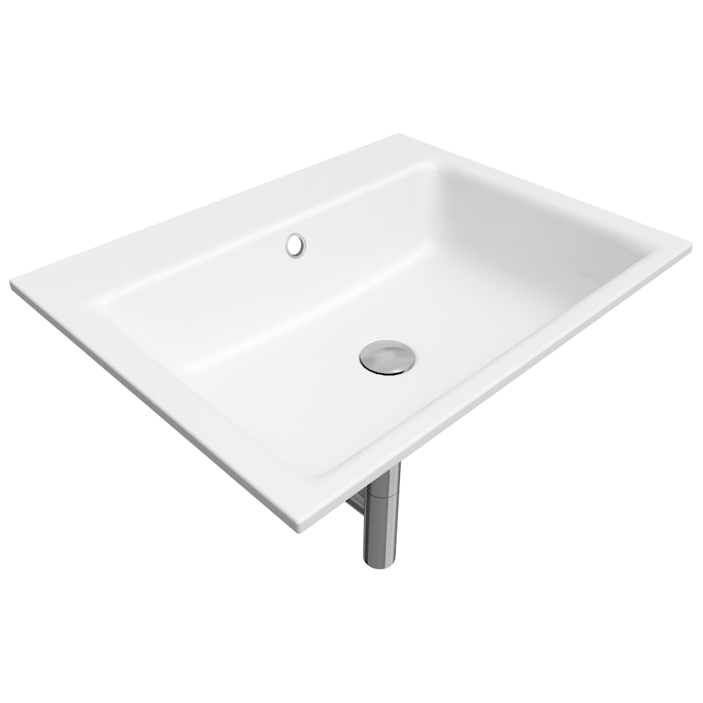 PURO Built in washbasin 460x600