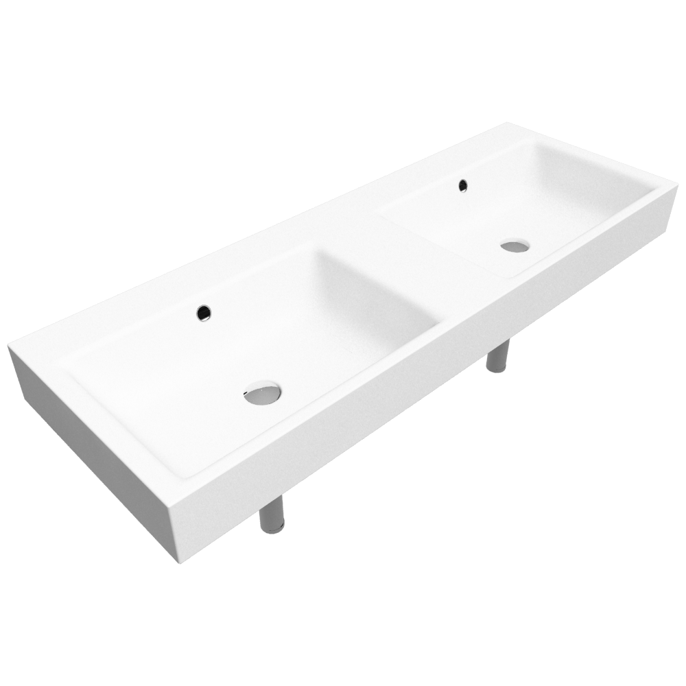 PURO Countertop washbasin 460x1300