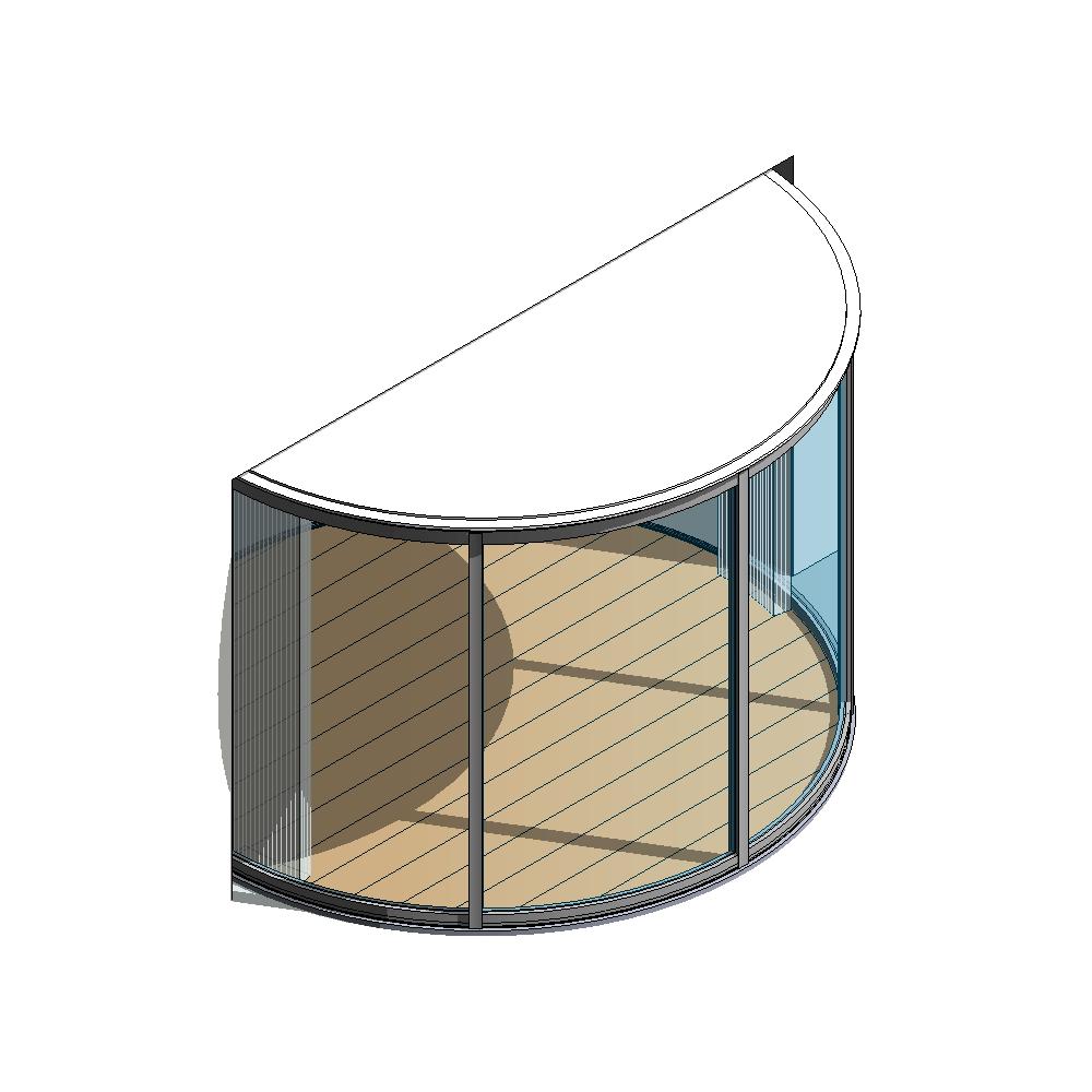 Lumicene Modèle applicable en maison individuelle menuiserie seule  3D View