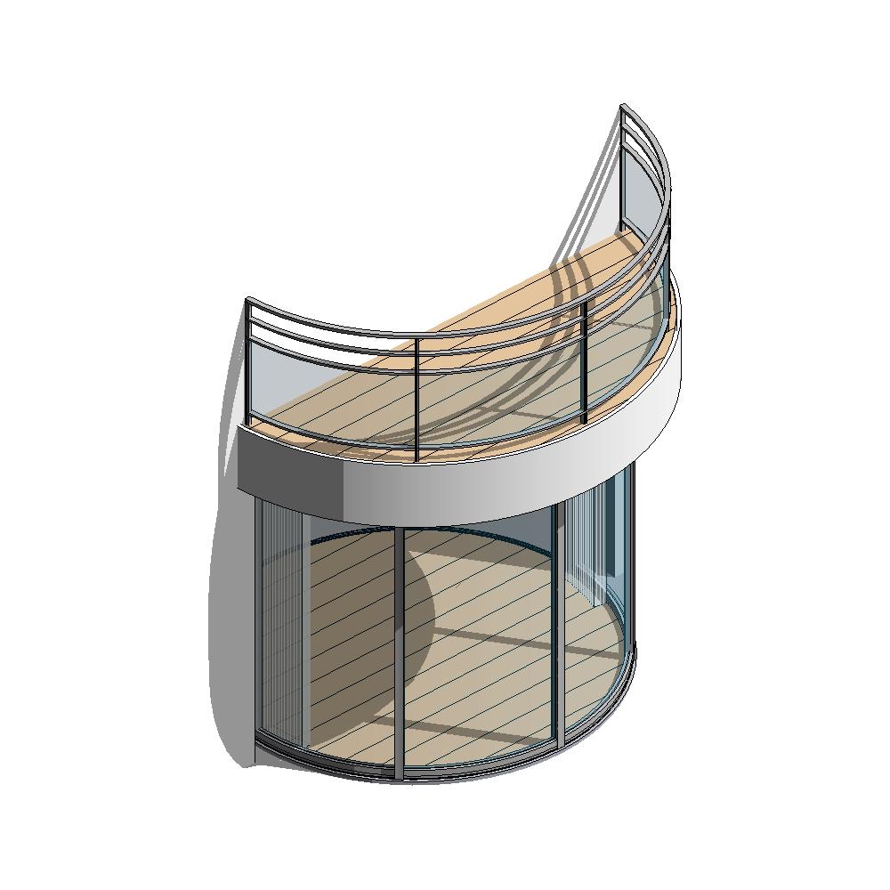 CAD and BIM object - Lumicene Modèle applicable en maison ...