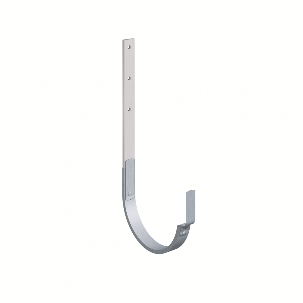 Gutter bracket (size 333, long leg, prePATINA blue-grey cladded)