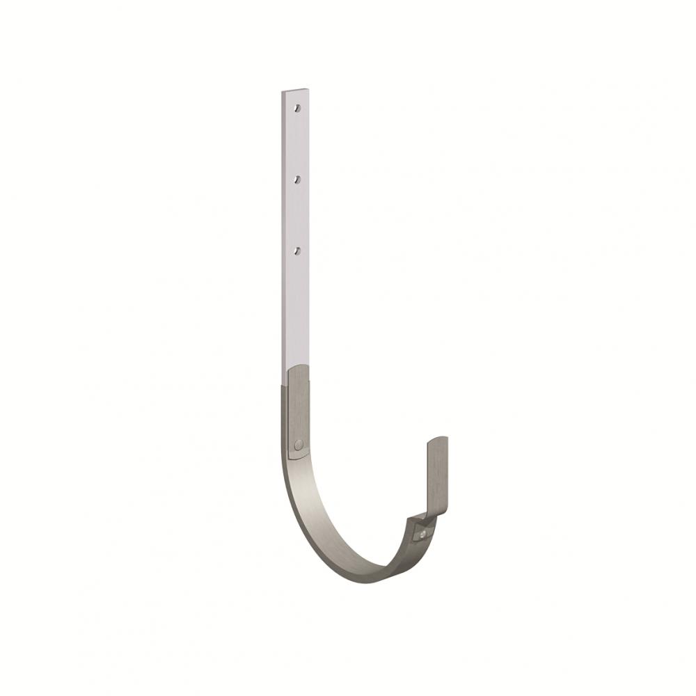 Gutter bracket (size 333, long leg, prePATINA graphite-grey cladded)