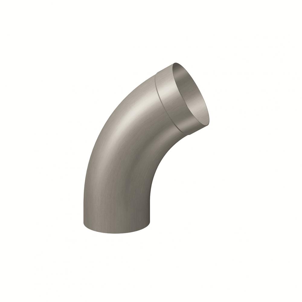 Elbow round 72° (size 100, prePATINA graphite-grey)