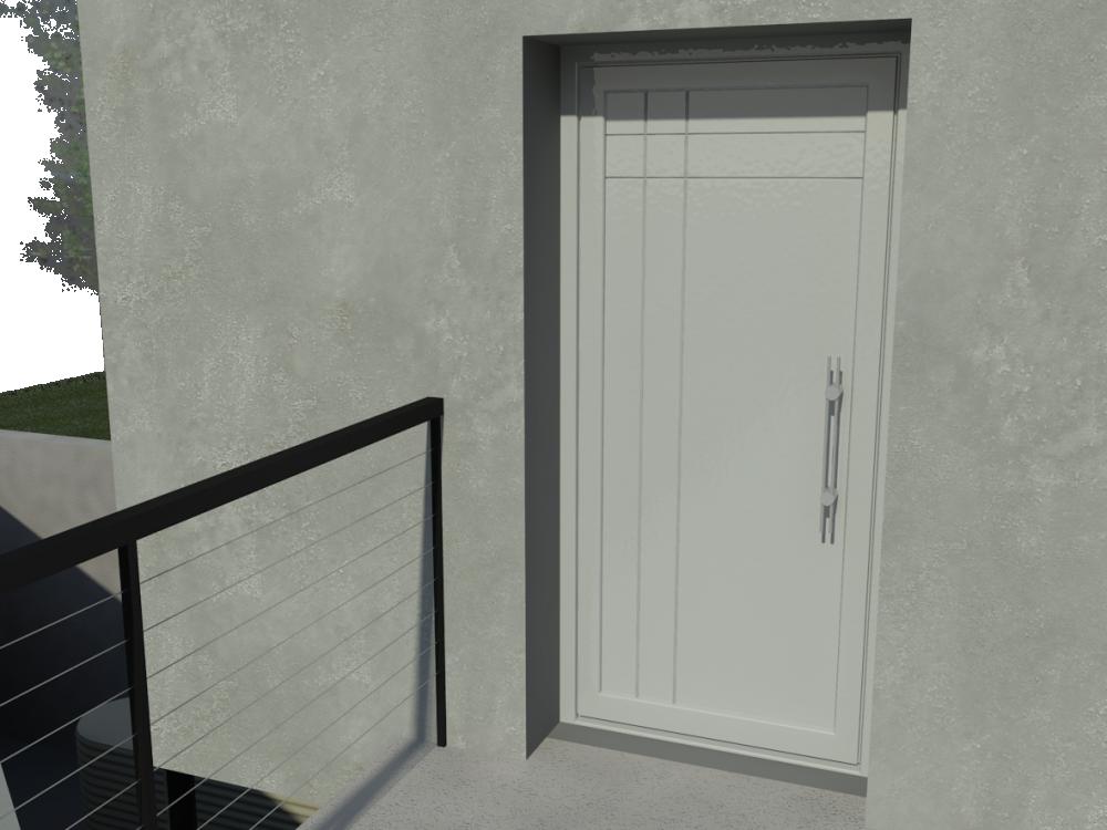 Zendow Neo Door  3D View