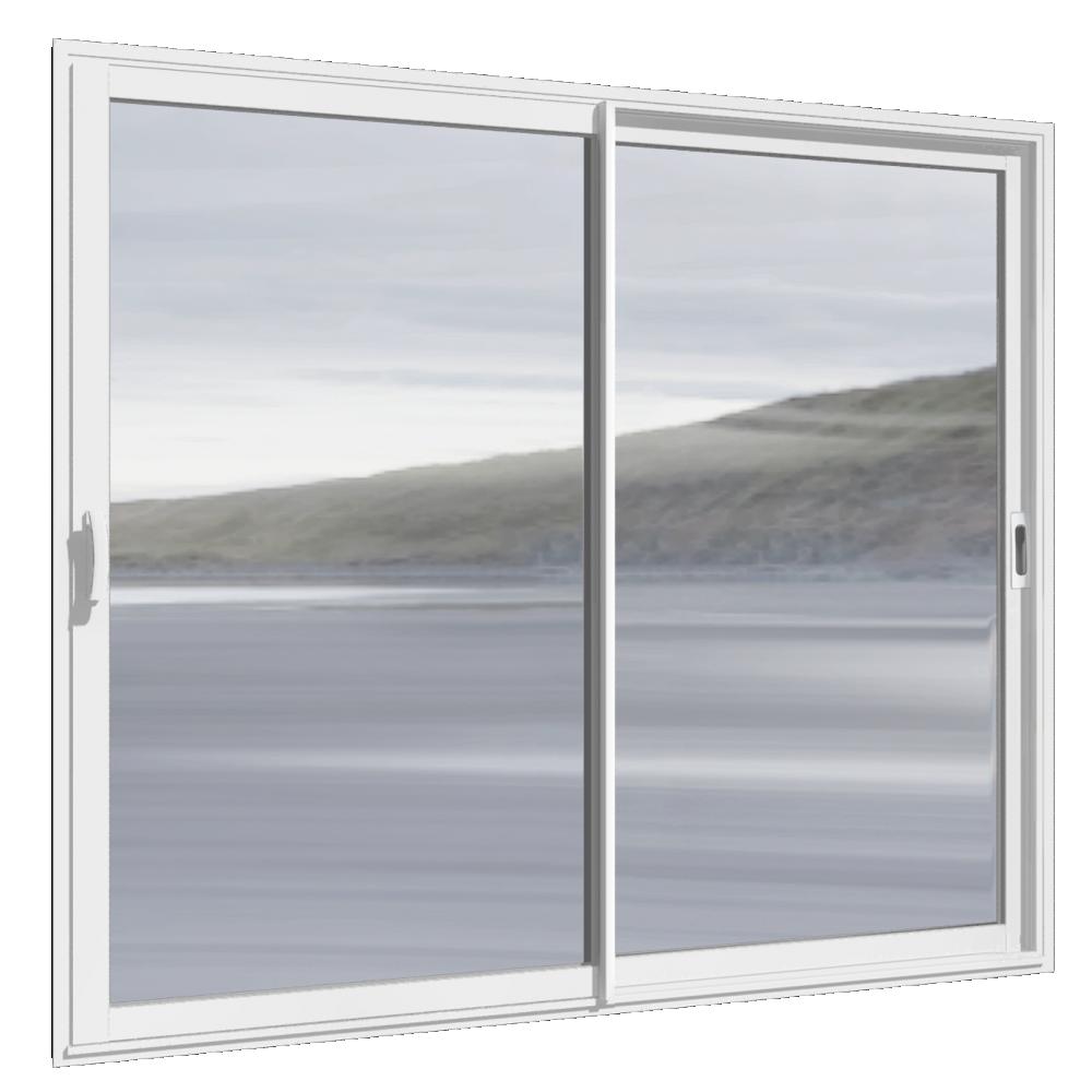 Bim Object Fenêtre Alu Coulissante En 2 Vantaux Maugin