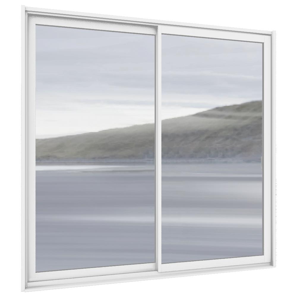 Fenêtre Origin'AL coulissante en 2 vantaux