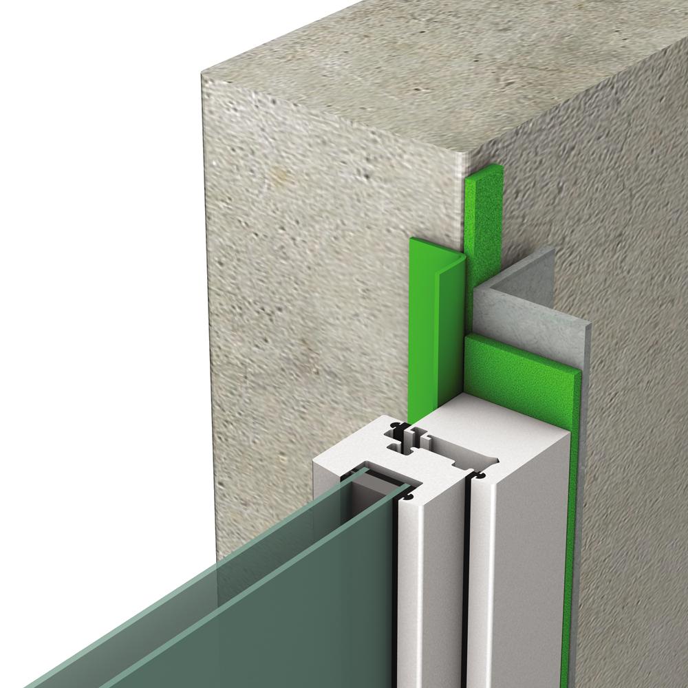 objets bim et cao applique exterieure passif pose sur precadre tremco illbruck. Black Bedroom Furniture Sets. Home Design Ideas