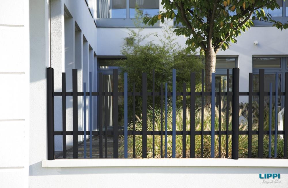 Gamme STEM portail battant 1 vantail  3D View