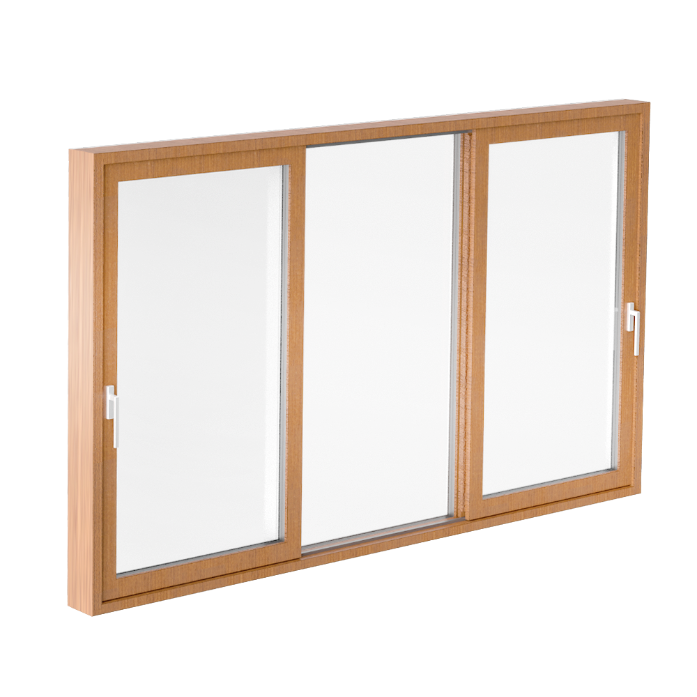 Glass sliding door CLEAR type K