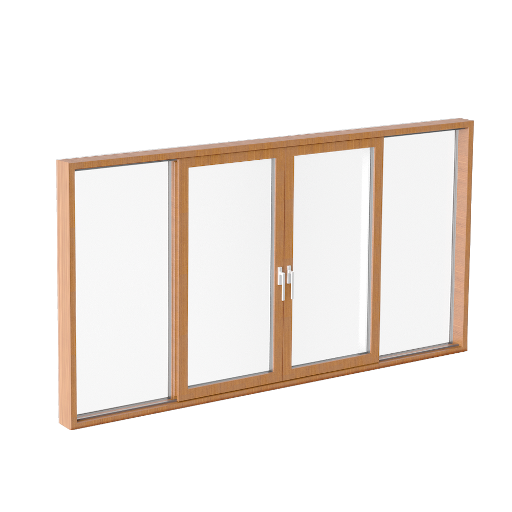 Glass sliding door CLEAR type M