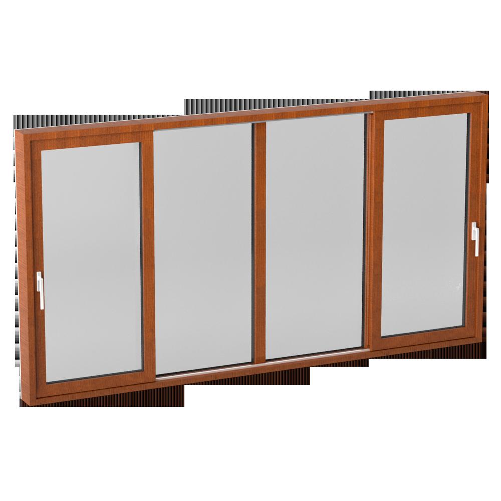 Glass sliding door CLEAR type S