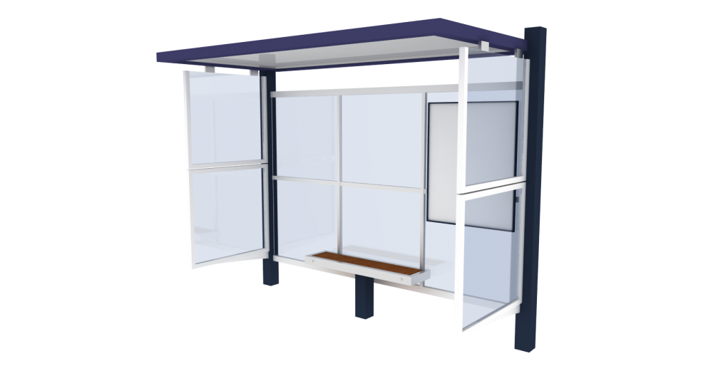 Bus shelter Cirrus Junior  3D View