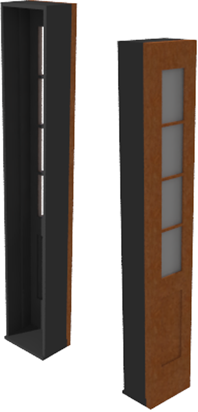 Door Sidelite Inswing Entrance Panel Glass Handicap Sill