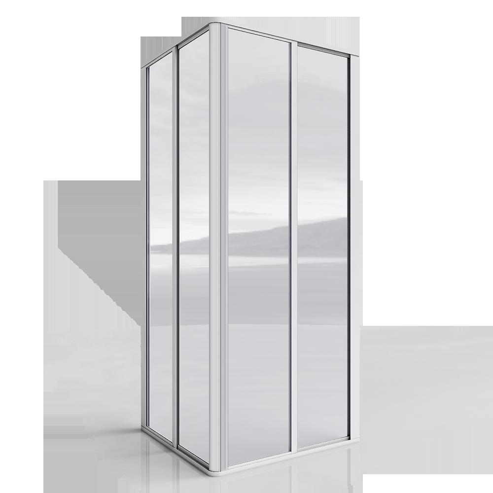 Porte de douche (angle)