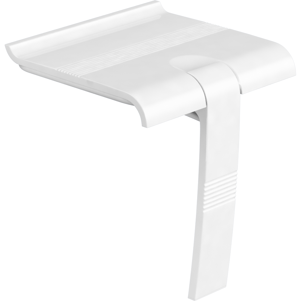 Shower seat, White