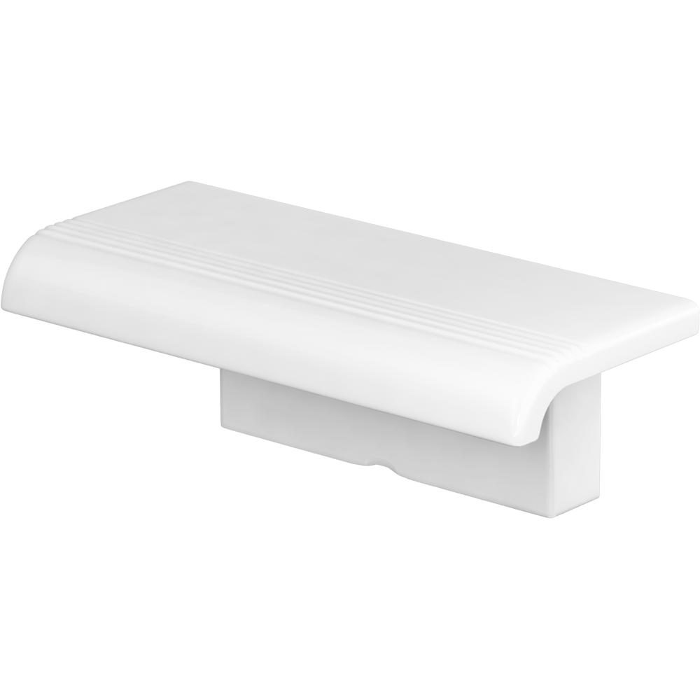 Shower shelf, White