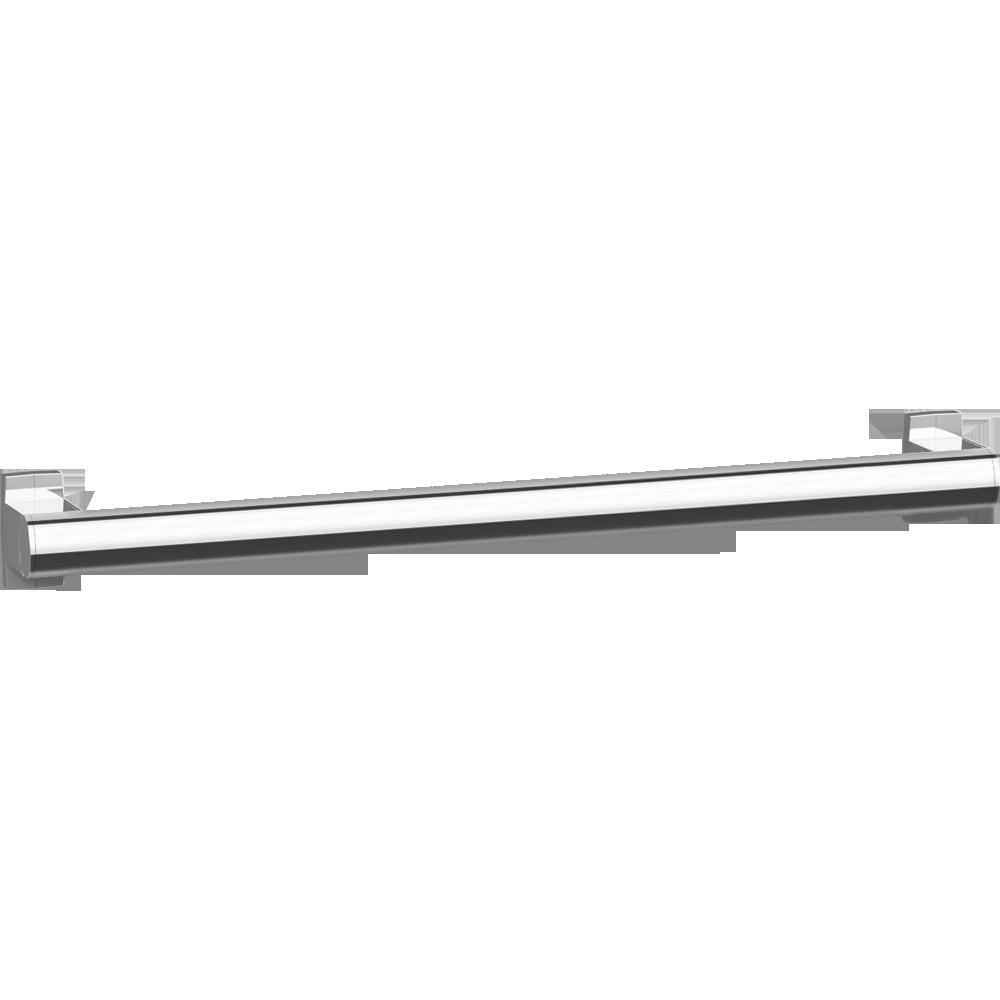 Straight grab bar, 600 mm, Bright Anodized Aluminium