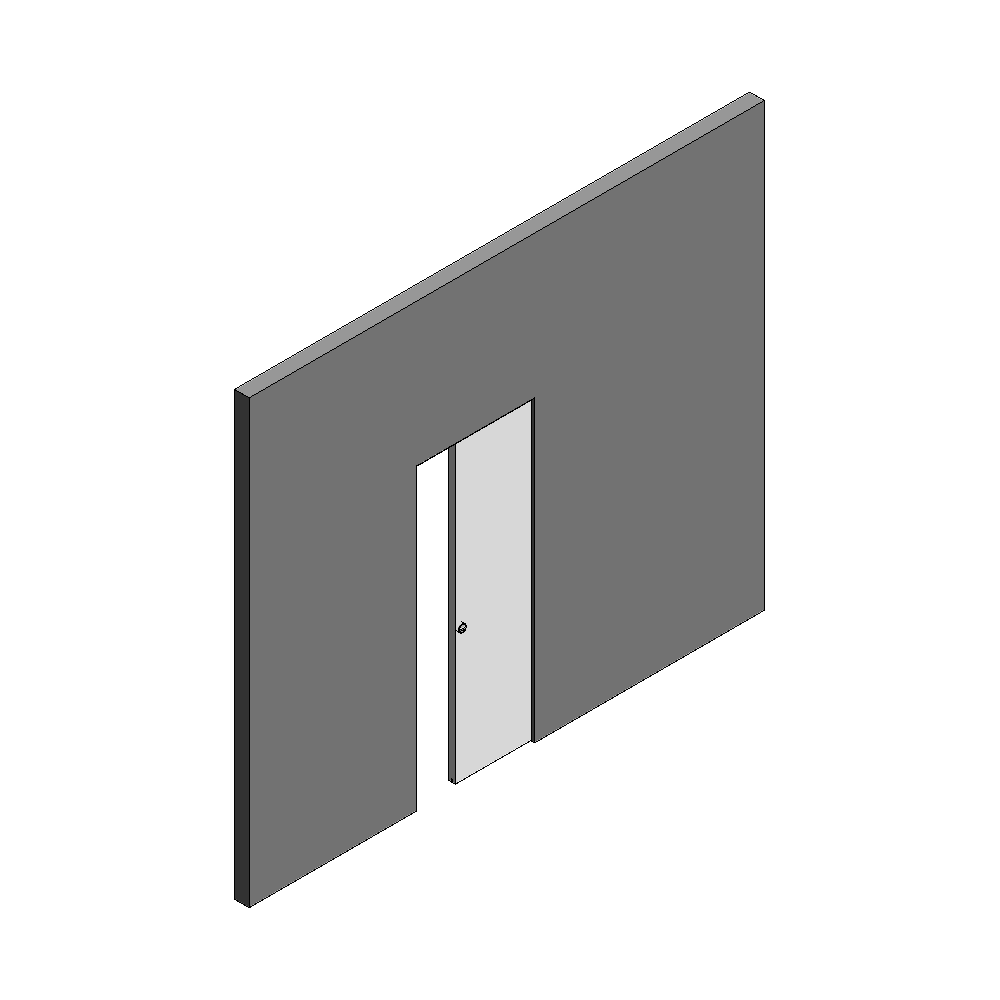 Sliding door Wall Thickness 100 mm