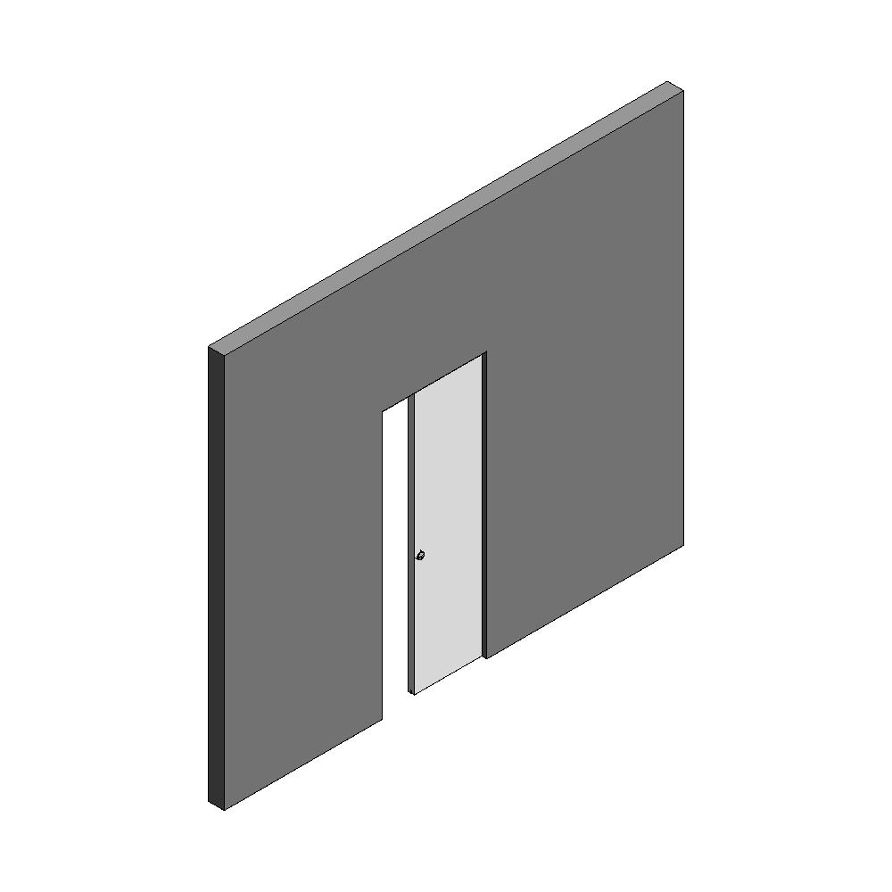 Sliding door Wall Thickness 125 mm