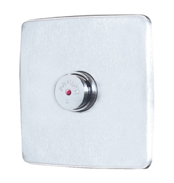 38340 PRESTO P 500 S B FOR CONCEALED MOUNTING WITH PLATE 16X16 CM AND STOP VALVE ANTI-BLOCKING SYSTEM