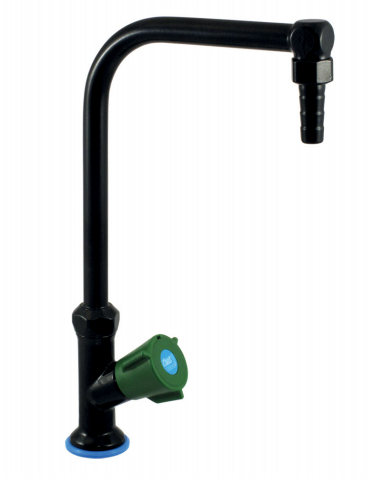 76046 PRESTO First Labo Column type table top single tap with fixed spout LVL0