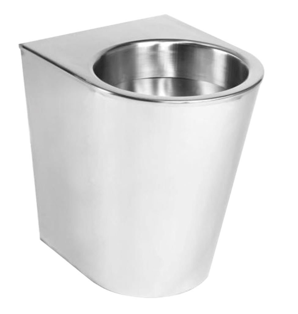 71702 - Floor Standing WC Toilet Pan - Rear Mounting LVL0