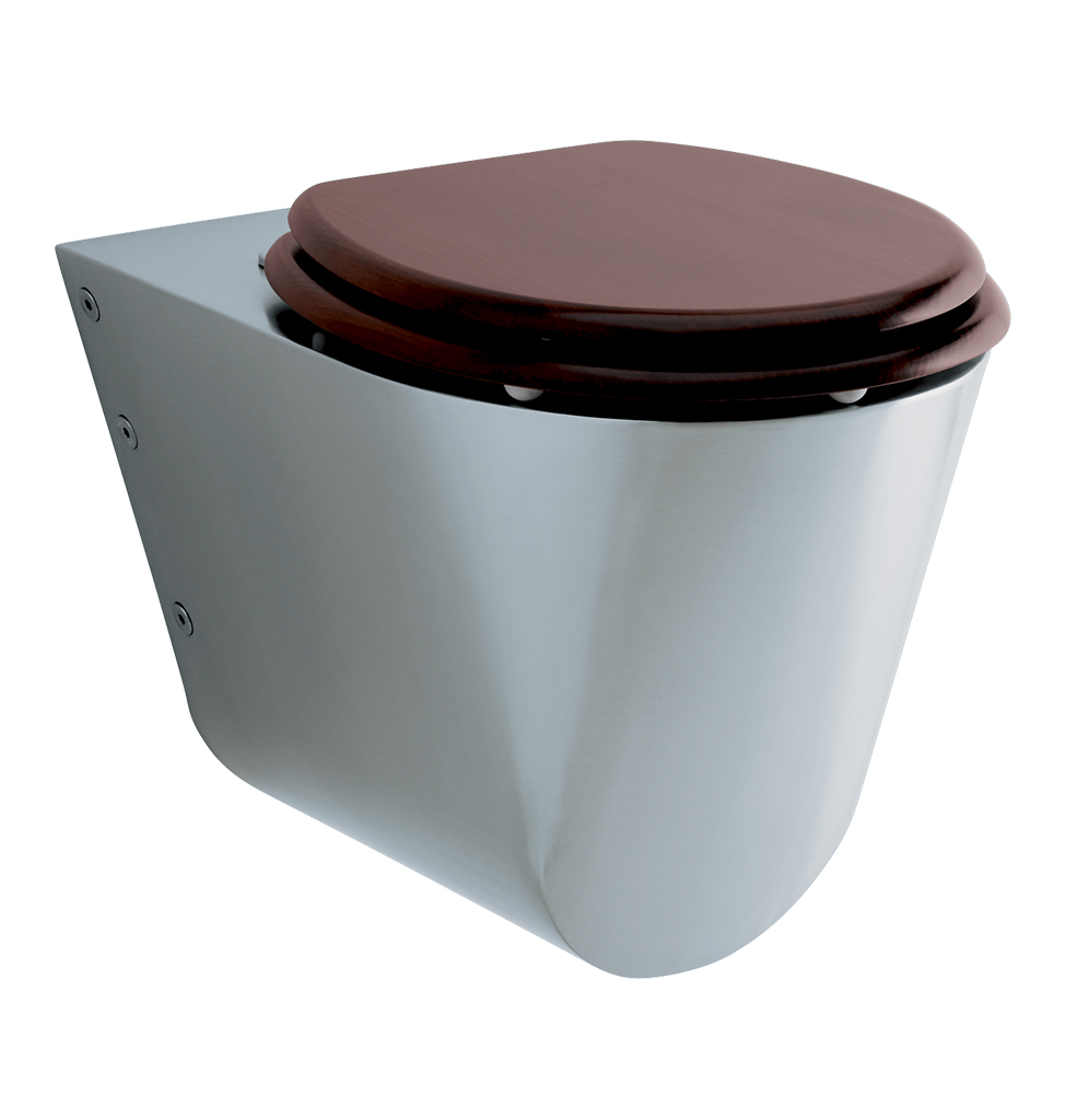 71600 PRESTO WC Toilet bowl wall front mounted LVL0