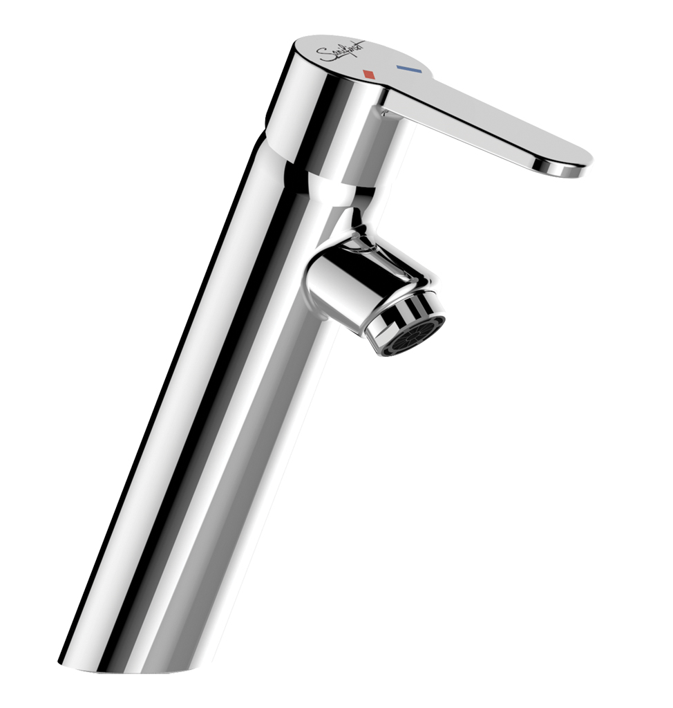 75844 - SANIFIRST Washbasin mixer with solid lever without drain