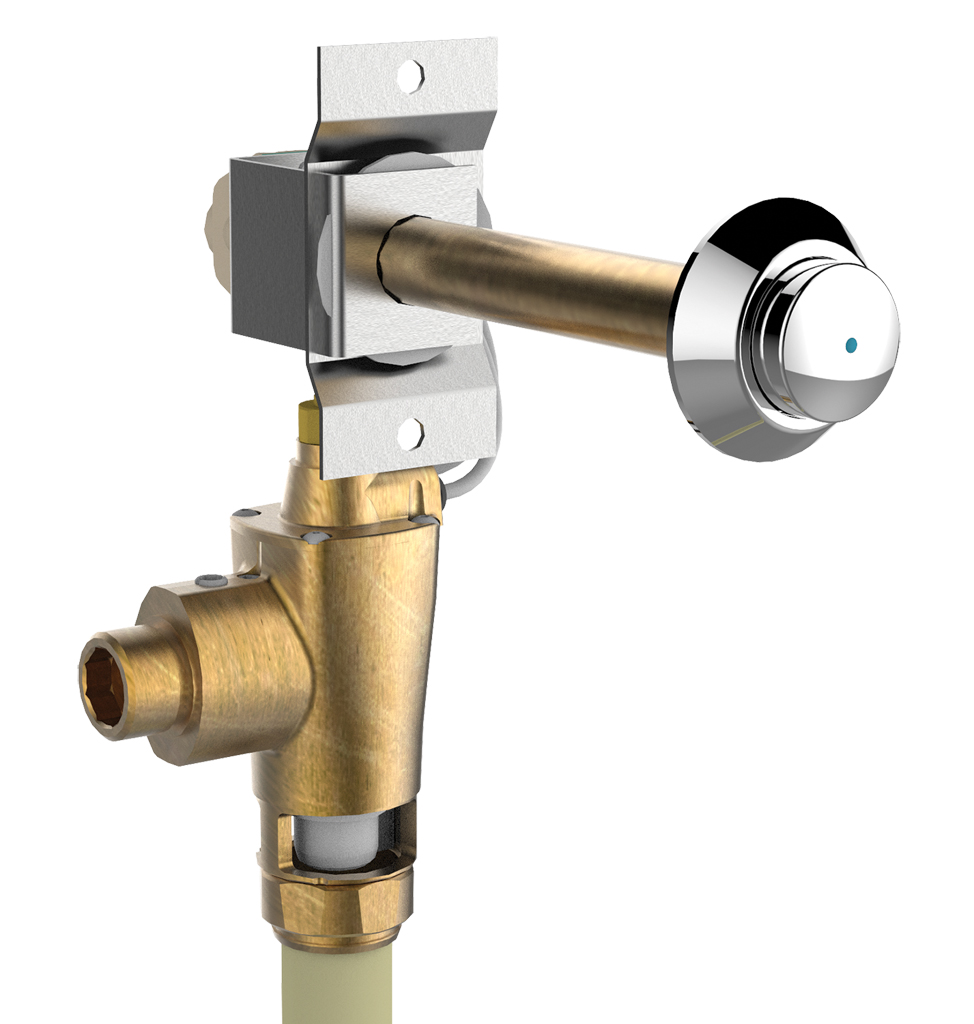 14263 PRESTO P1000XL Cross-partition control for direct flush Vandal-proof LVL0