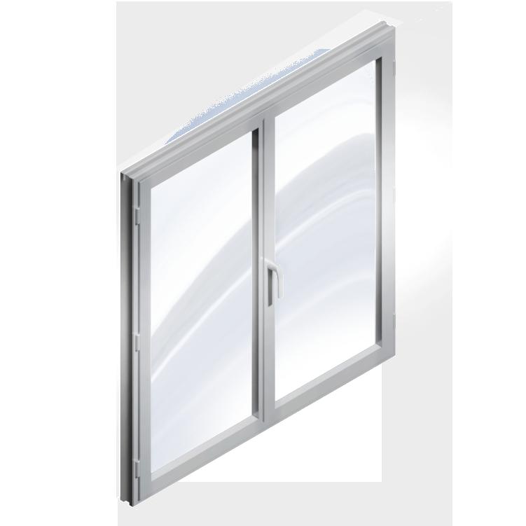 Window 2 Doors (Metal)
