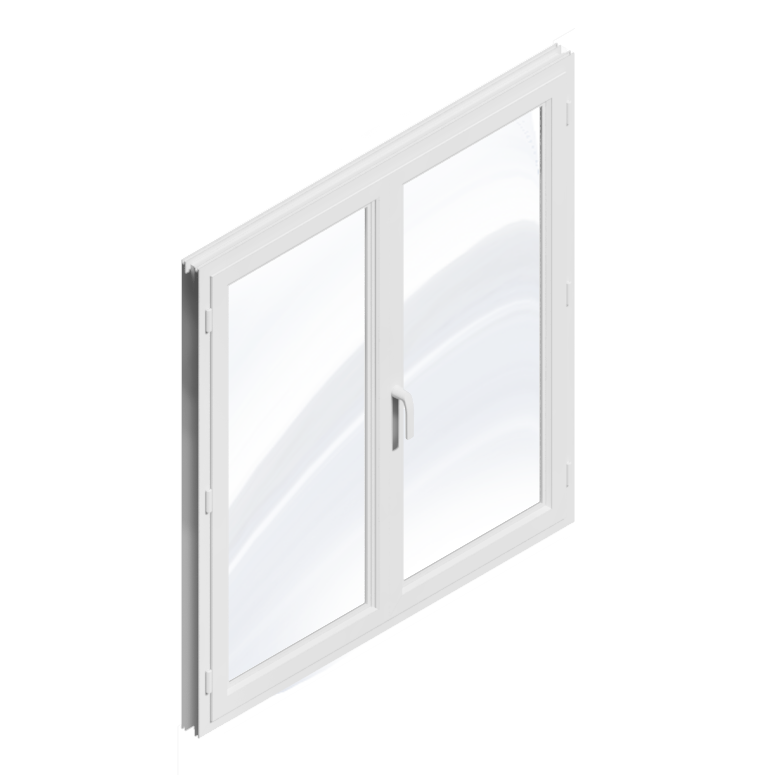 Bim objekt window 2 doors pvc generic object for Window object